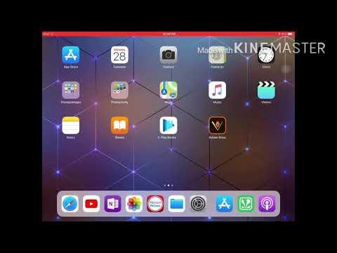 Change wallpaper in iPad