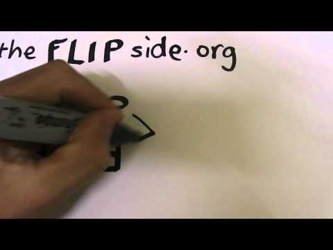 How to draw a basic Ambigram