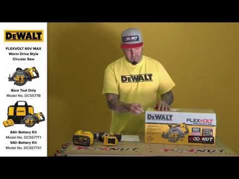 DeWALT FlexVolt 60V MAX Brushless Worm Drive Style Circular Saw DCS577