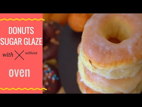 How to make donuts at home easy | Sugar glaze| होममेड डोनट्स