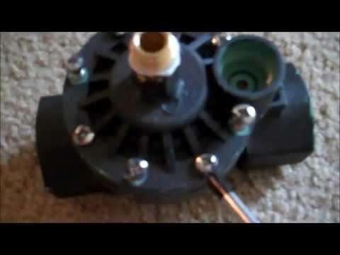 Modifying a sprinkler valve