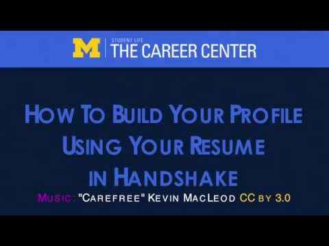 How To Build Your Profile Using Your Resume
