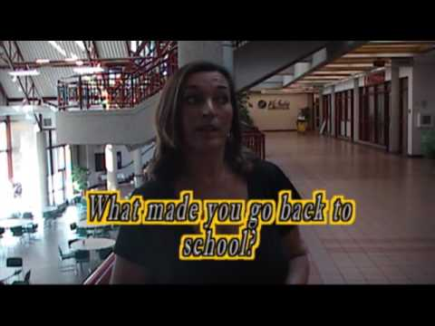 LakeLand College 2009 IT'S NEVER TOO LATE TO GO BACK TO SCHOOL!