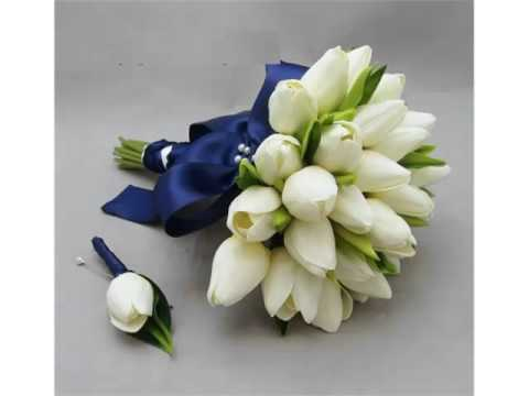 White Tulips Bouquet | Beautiful Pictures Of White Folwers - Phula Pics