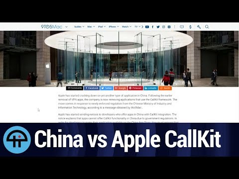 Apple Cracks Down on VoIP Apps in China