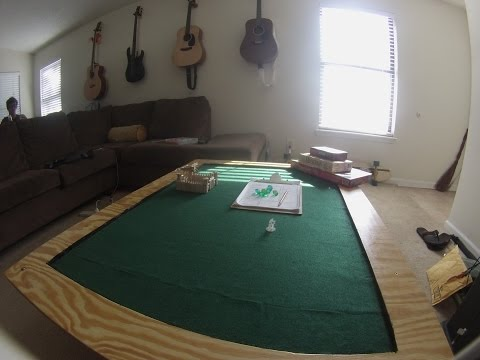 DIY Coffee Table Conversion, Gaming Tabletop Build