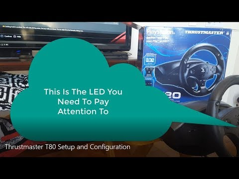 Thrustmaster T80 Steering Wheel Setup & Configuration