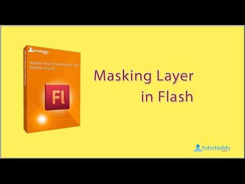 Masking In Flash CS6 Tutorial