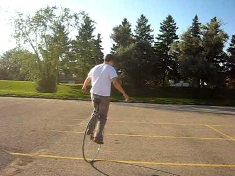 Introducing the BIG wheel unicycle