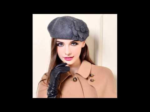winter beret hat for women