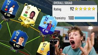 I GOT A 192 FUT DRAFT!!! - FIFA 17 *WORLD RECORD*