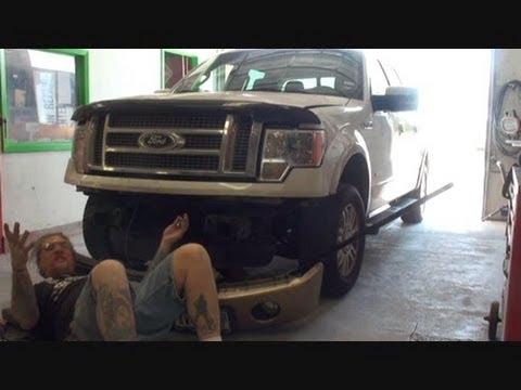 Auto Collision Damage-CONSUMER REPORT-Part 2-Front Bumper Inspection