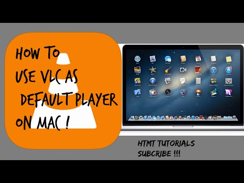 How to set VLC as default media player on Mac :)