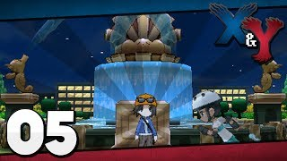 Pokémon X and Y - Episode 5 | Route 4: Parterre Way!