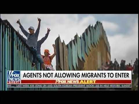 Caravan Migrants Push For Asylum - Fox & Friends