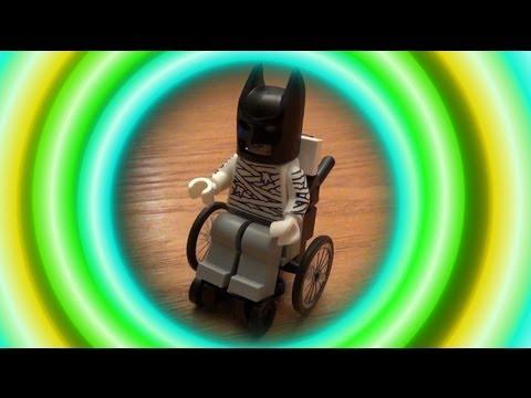 LEGO Tutorial: How to Build a LEGO Wheelchair