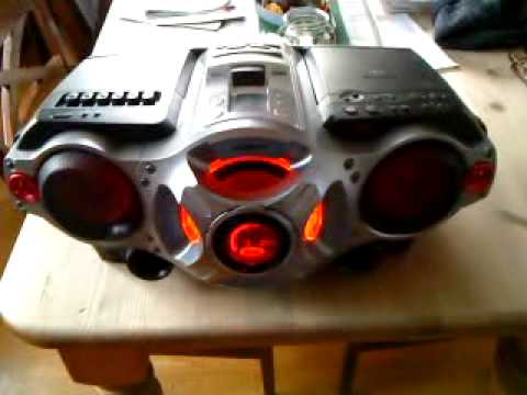 Sony Xplod boombox