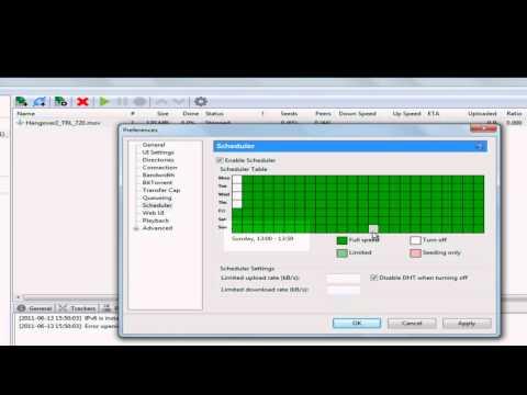 How to make torrent Scheduler(Torrent tutorial 5)
