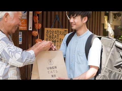 Uber Starts Food Delivery Service to Crack Japan's Market