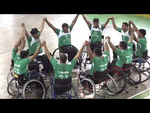 3rd National Wheelchair Basketball Championship - Final Match Highlights