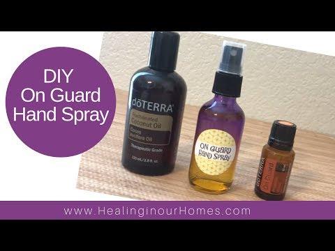 How to make OnGuard hand spray - DoTERRA essential oils
