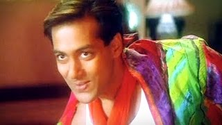 Salman Khan funny fight comedy scene from superhit movie JUDWAA - Karishma Kapoor, Rambha