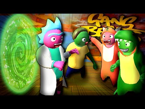 RICK & MORTY in Gang Beasts! Neue MAPS! - Gang Beasts