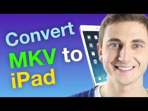 MKV to iPad on Mac / Windows In Just 3 Steps!