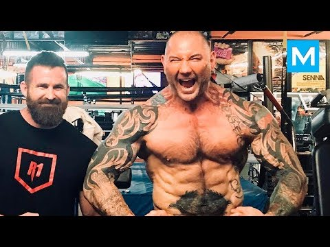 Dave Bautista Training for Avengers | Muscle Madness