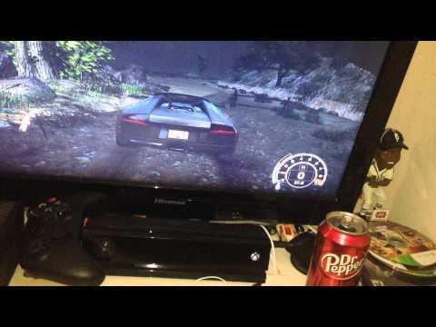 NFS Hot pursuit engine controls (with race wheel)