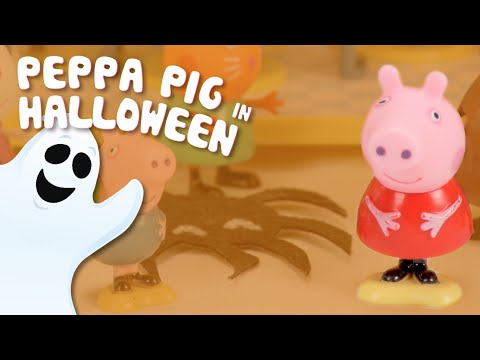Halloween party in Peppa Pig's house