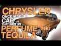 Chrysler Once Made A Car That Ran On Perfume And Tequila The Future Of Drinking Videos