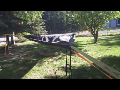 How to make your own suspended tree tent platform like the tentsile trillium