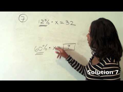 GRE Fractions, Decimals, and Percents- Chapter 2 Solutions