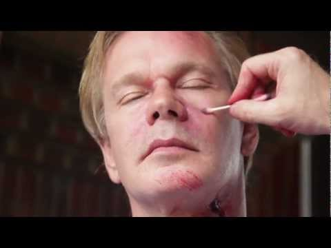 Zombie Makeup for Halloween | At Home With P. Allen Smith