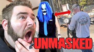 KILLJOY UNMASKED WRESTLED TODAY AT GTS! (NOT CLICKBAIT) SCARY AF!
