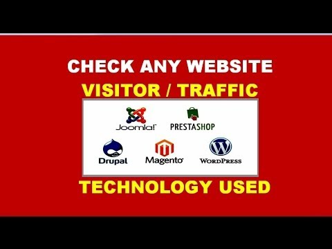 how to check any website - traffic, web development tool used, earnings, owner, age ,keywords etc