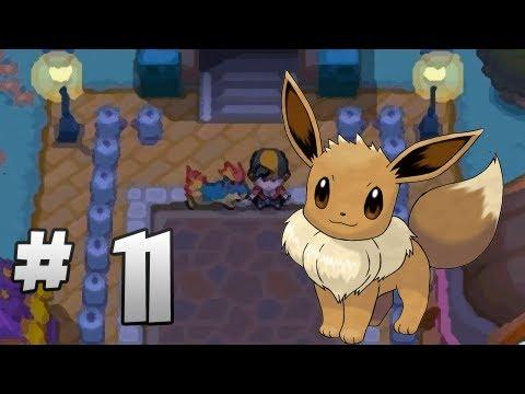 Let's Play Pokemon: HeartGold - Part 11 - Den & Aqui