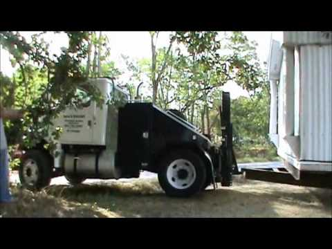 Moving a mobile home the hard way