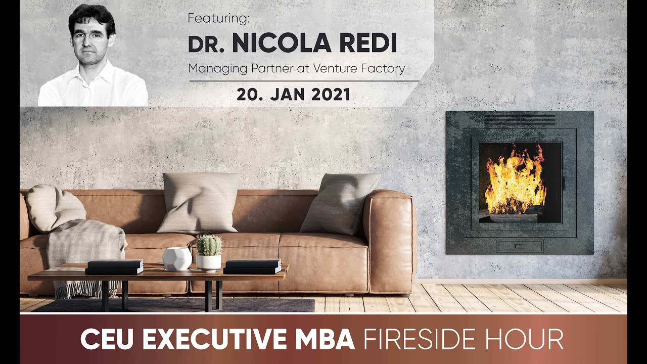 CEU Executive MBA Fireside Hour with Dr. Nicola Redi