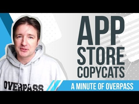 App Store Copycats - A Minute of Overpass: The UK Educational Game Developers