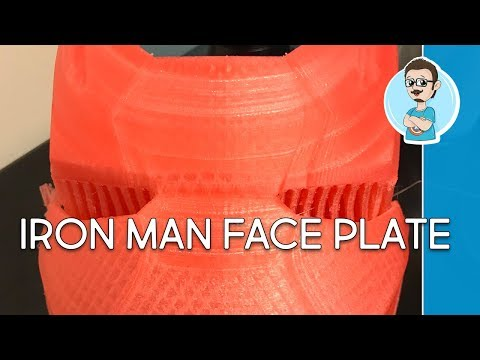 3D Printer In Action | 3D Iron Man Helmet