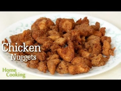 Crunchy Chicken Nuggets Recipe | Ventuno Home Cooking