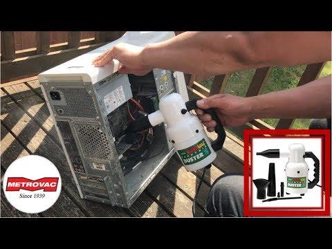 How To Clean A Dusty Desktop Computer | Metro Vacuum DataVac