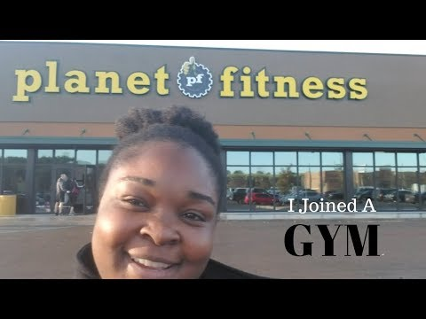 I joined a gym!!| Planet Fitness| Weight Loss