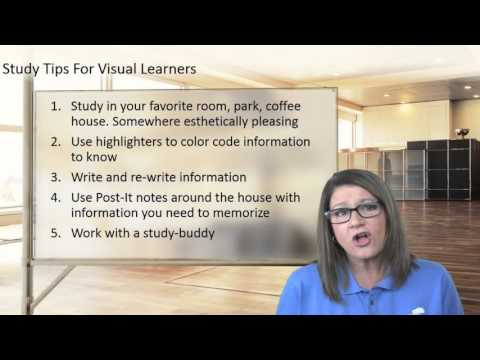 Study Tips For Your Learning Style