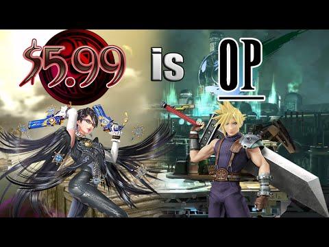 $5.99 is OP (Cloud + Bayonetta) - Smash Bros. Wii U Montage