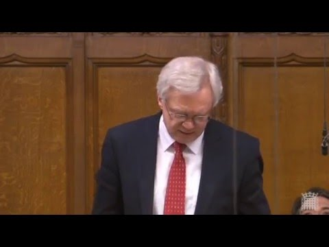 David Davis ask the Prime Minister about a discrepancy between immigration and NI figures