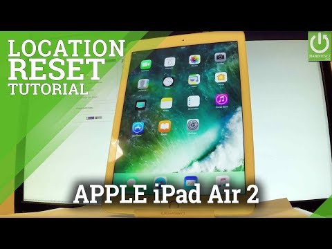 How to Reset Location and Privacy in APPLE iPad Air 2
