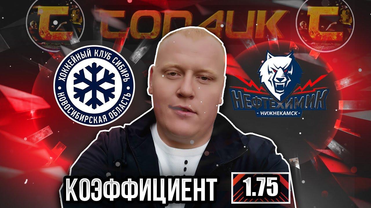 Сибирь - Нефтехимик / КХЛ / прогноз и ставка на хоккей
